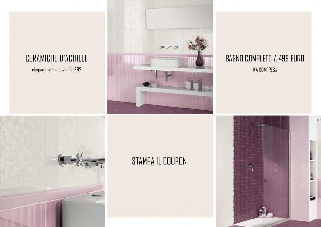 Offerta Bagno Completo stampa il coupon